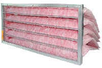 Homecare heat recovery ventilation filter